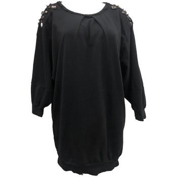 textil Mujer Tops / Blusas Rich & Royal Sweet mi manche Noir 13Q223 Negro