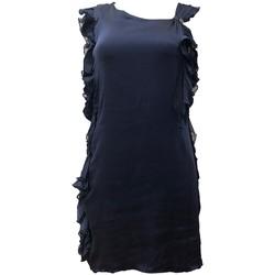 textil Mujer Vestidos Rich & Royal Robe Bleu 13Q686 Azul