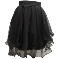textil Mujer Faldas Rich & Royal Jupe Noir 13Q691 Negro
