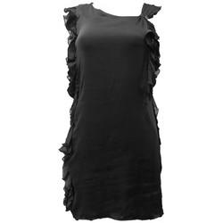 textil Mujer Vestidos Rich & Royal Robe Noir 13Q686 Negro