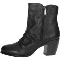 Zapatos Mujer Botas de caña baja Elena Del Chio 5803 Negro