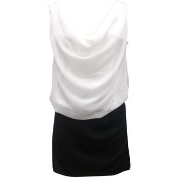 textil Mujer Vestidos By La Vitrine Robe Noir Blanc Coco Giulia 0Y-019 Negro