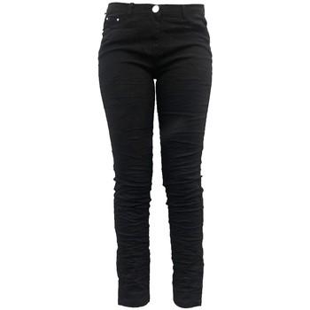 textil Mujer Pantalones fluidos Dress Code Pantalon C601 Noir Negro