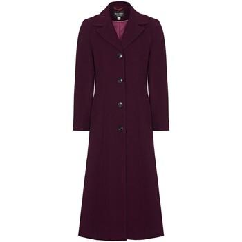 textil Mujer Abrigos Anastasia Abrigo de cachemir de un solo pecho de invierno Red