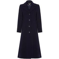 textil Mujer Abrigos Anastasia Abrigo de cachemir de un solo pecho de invierno Navy