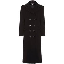 textil Mujer Abrigos Anastasia Abrigo de cachemir de un solo pecho de invierno Black