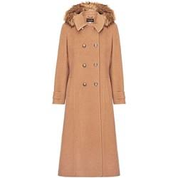 textil Mujer Abrigos Anastasia Abrigo de cachemir cruzado de invierno Beige