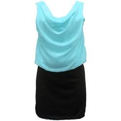 textil Mujer Vestidos By La Vitrine Robe Noir Vert Coco Giulia 0Y-019 Negro