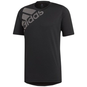 textil Hombre camisetas manga corta adidas Originals Freelift Badge OF Sport Graphic Negro