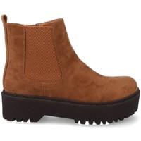 Zapatos Mujer Botas de caña baja Prisska JZ982 Marron