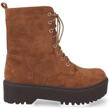 Zapatos Mujer Botines Prisska JZ983 Camel
