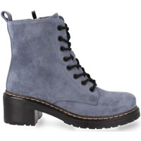 Zapatos Mujer Botas de caña baja Prisska MT06 Azul