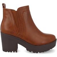 Zapatos Mujer Low boots Prisska Y5651 Camel