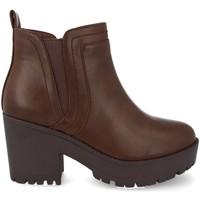 Zapatos Mujer Low boots Prisska Y5651 Marron