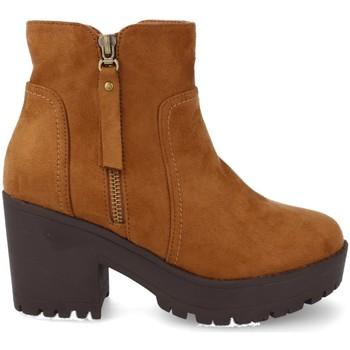 Zapatos Mujer Low boots Prisska Y5652 Camel