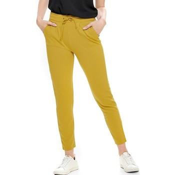 textil Mujer Pantalones Jacqueline De Yong  Amarillo