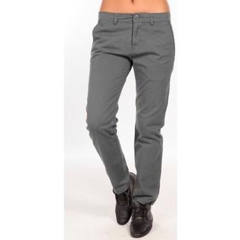 textil Mujer Pantalones chinos Charlie Joe Pantalon  Gris  Waine Long Pant Gris