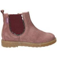 Zapatos Niña Botas de caña baja Garvalin Botines  191637 b niña rosa rose