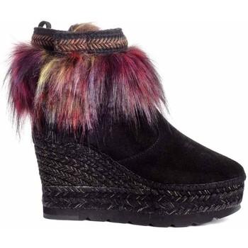 Zapatos Mujer Botines Vidorreta 96166PTTI Negro