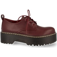 Zapatos Mujer Derbie Prisska MT03 Burdeos