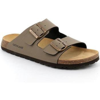 Zapatos Hombre Zuecos (Mules) Grunland DSG-CB3012 TORTORA