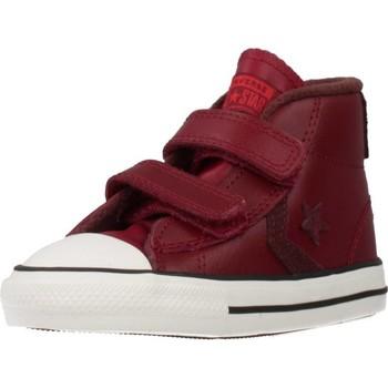 Zapatos Niño Zapatillas altas Converse STAR PLAYER 2V MID Rojo