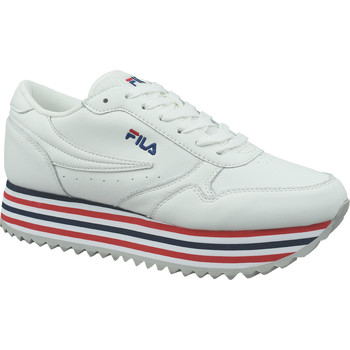 Zapatos Mujer Zapatillas bajas Fila Orbit Zeppa Stripe Wmn Blanc