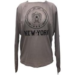 textil Mujer Tops / Blusas Charlie Joe Top New york Est 1967  Taupe Marrón
