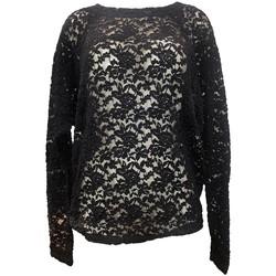 textil Mujer Tops / Blusas Charlie Joe Top ZUCCA Noir Negro