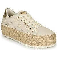 Zapatos Mujer Zapatillas bajas Guess MARILYN Beige