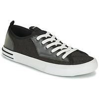 Zapatos Hombre Zapatillas bajas Guess NETTUNO LOW Negro / Gris