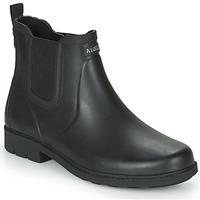 Zapatos Hombre Botas de agua Aigle CARVILLE Negro