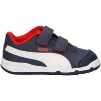 Zapatos Niños Zapatillas bajas Puma 192523 STEPFLEEX Azul