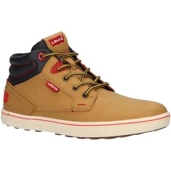 Zapatos Niños Zapatillas altas Levi's VPOR0021S NEW PORTLAND Marr?n
