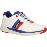 Zapatos Niños Zapatillas bajas Levi's VORE0016S NEW OREGON Blanco