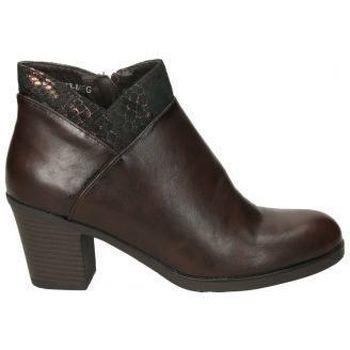 Zapatos Mujer Low boots Deity Botín de tacón  YSY16573-ME para mujer Marron