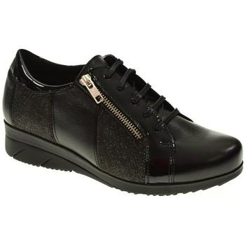 Zapatos Mujer Zapatillas bajas Baerchi ZAPATO CUÑA  NEGRO Negro