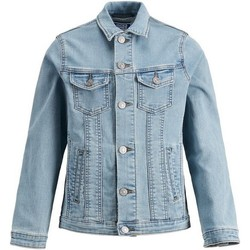 textil Niño chaquetas denim Jack & Jones 12149371 JJIALVIN JJACKET CR 045 IK JR BLUE DENIM Azul