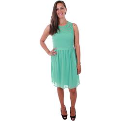 textil Mujer Vestidos cortos Vero Moda 10211594 VMVANESSA SL SHORT DRESS WASABI Verde