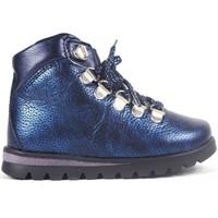 Zapatos Niño Zapatillas altas Pablosky Botas  066623 Marino Azul