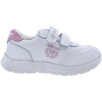 Zapatos Niña Zapatillas bajas Pablosky Zapatillas  277907 Blanco-Rosa Blanco