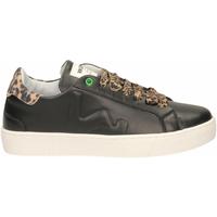 Zapatos Mujer Zapatillas bajas Womsh SNIK black-leopard