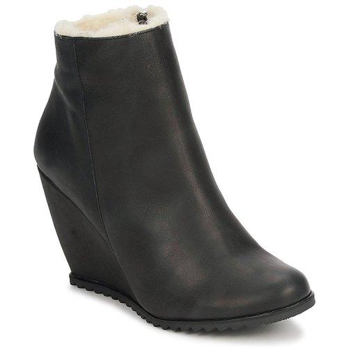 Los zapatos más populares para hombres y mujeres Zapatos especiales D.Co Copenhagen SALLY ZIPPER Negro