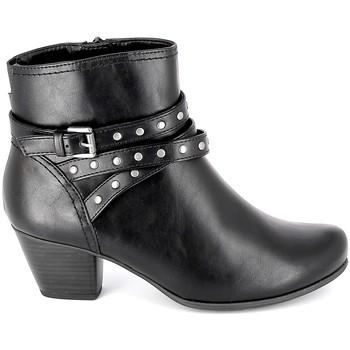 Zapatos Mujer Botines Jana Boots 25362-23 Noir Negro
