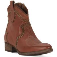 Zapatos Mujer Botines Priv Lab CUOIO BUFALO Marrone