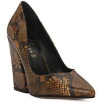 Zapatos Mujer Zapatos de tacón Priv Lab DECOLTE PITONE Marrone
