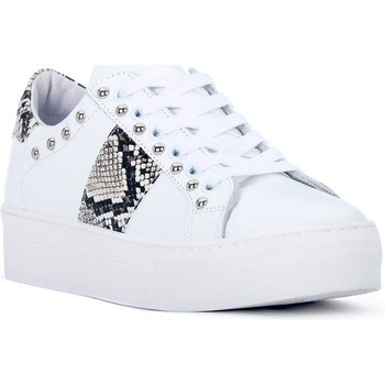 Zapatos Mujer Zapatillas bajas At Go GO GALAXY BIANCO Bianco