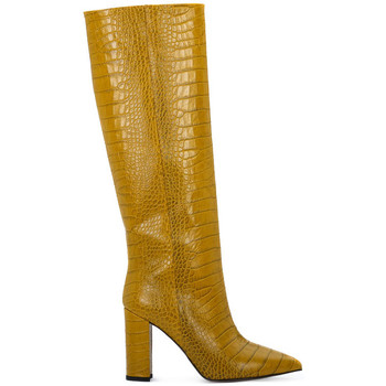 Priv Lab OCRA COCCO Giallo - Zapatos Botas urbanas Mujer 17200