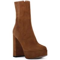 Zapatos Mujer Botines Priv Lab RODEO CAMOSCIO Marrone