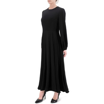 textil Mujer vestidos largos Anonyme | Vestido Vestido de Tina Negra | ANY_P129FD144_BLACK Noir